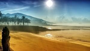 Quite beach Bali