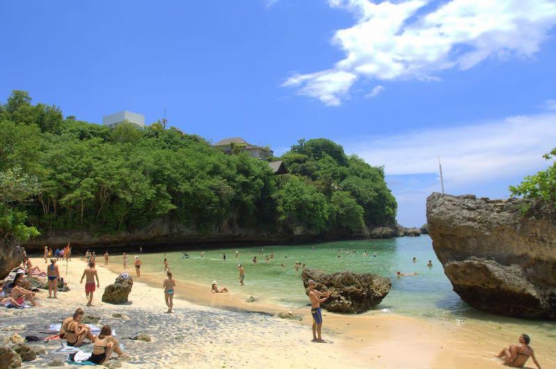 Padang Padang Beach Nusa Dua Bali
