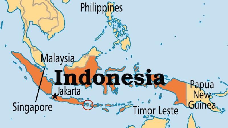 Indonesia Bali Map